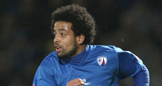Djilali: Former Crystal Palace winger has joined Football League new boys AFC Wimbledon