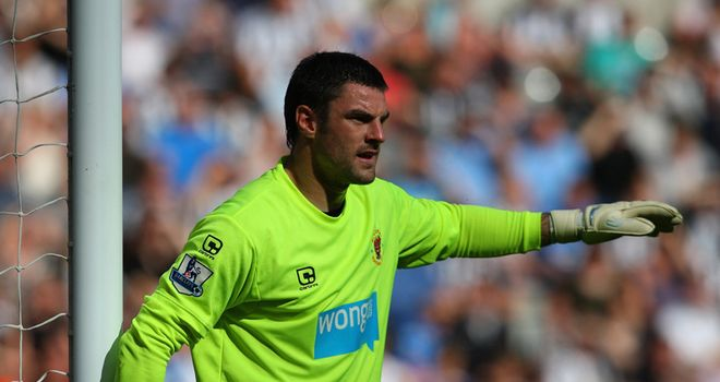 Gilks: Close to signing new deal at Blackpool