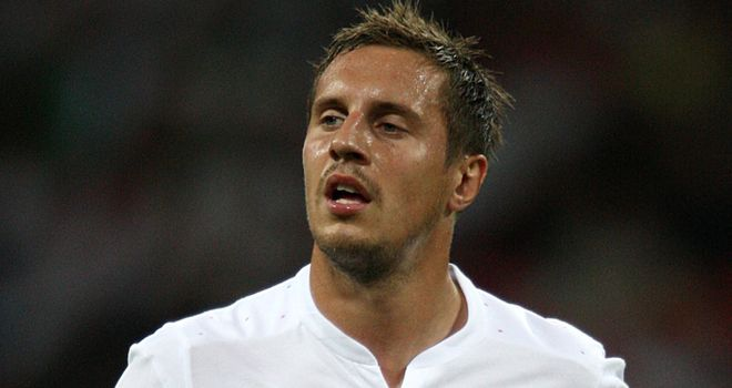 Phil Jagielka: Everton central defender battling to be fit for international duty