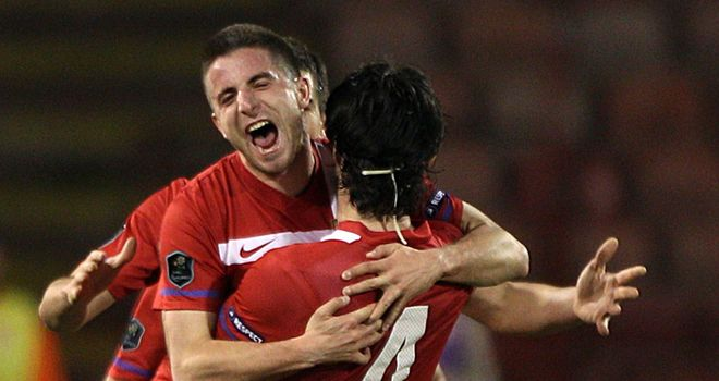 Tosic: Scored winner
