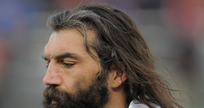 Chabal: left out of France's provisional squad for the World Cup