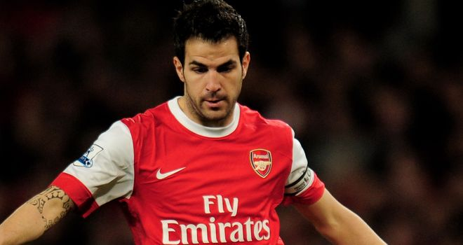 Fabregas: Recovered from hamstring problem