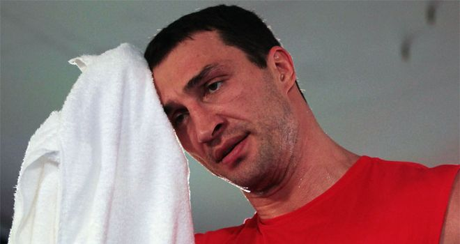 Klitschko: Optimistic on fitness