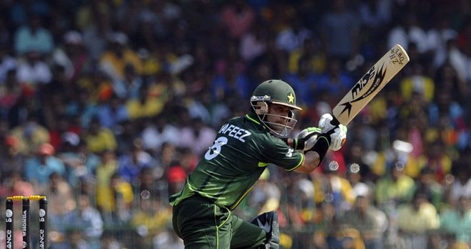 Axe: Shehzad has a top score of 13 at the World Cup