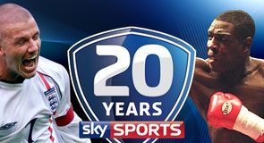 20 years of Sky Sports
