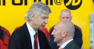 Ian Holloway (left): Unhappy with Wenger's Zaha comments