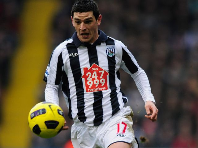 Dorrans: Desperate to keep his starting place at West Brom