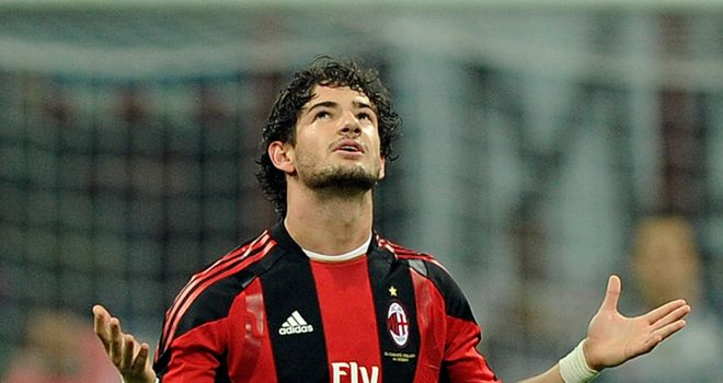 Alexandre Pato: Could soon be on his way out of AC Milan and off to France