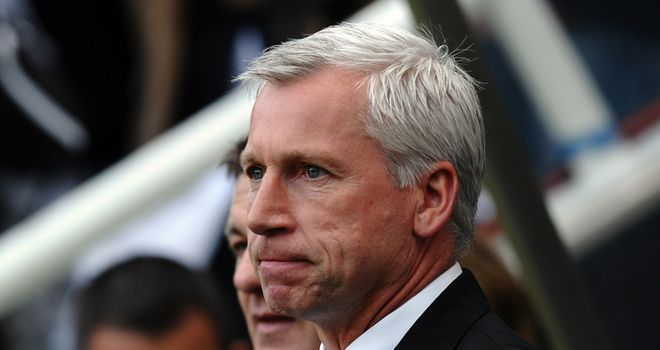 Pardew: Facing a difficult decision regarding who will be Newcastle United's No.1 keeper next season