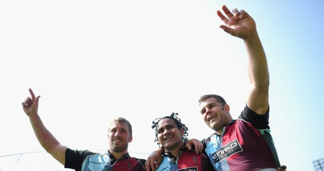 Easter: Leading Quins celebrations
