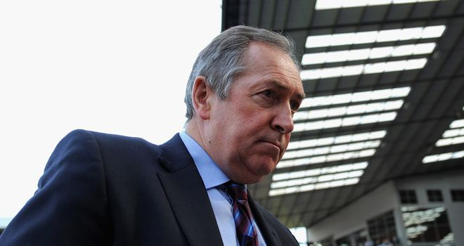 Gerard Houllier: Former Aston Villa and Liverpool boss has joined Austrian champions