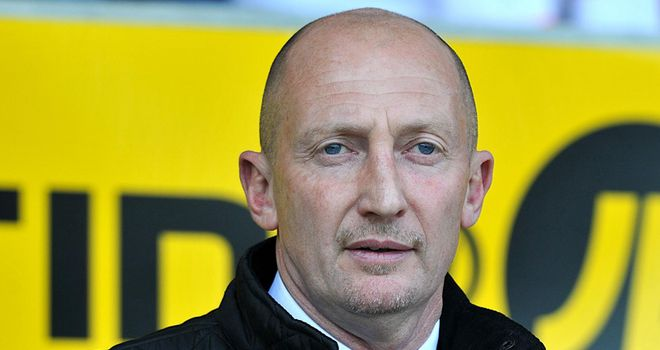Holloway: Believes Blackpool can still stay up despite a poor run of form