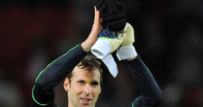 Cech: Hoping to blunt United's progress in final games