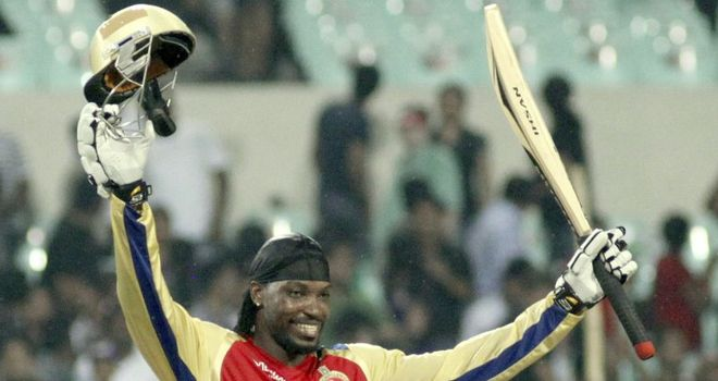 Gayle: left out of Test squad