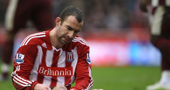Higginbotham: Facing a lengthy spell of rehabilitation following cruciate injury