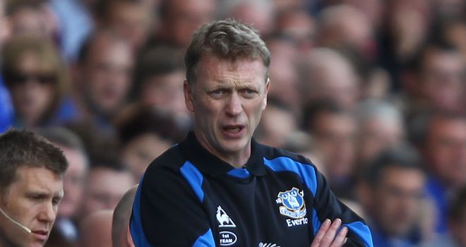 Moyes: Overseeing the rebuilding of a new team for Everton