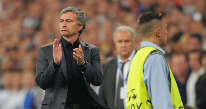 Mourinho: Angered at result after Real were beaten 2-0 at home by Barcelona