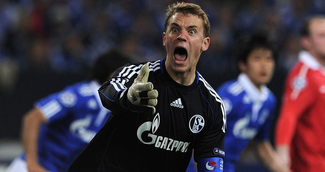 Neuer: Is destined to depart Schalke over the summer