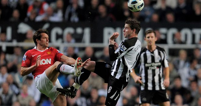 Owen: United striker has come under fire for comments about his former club Newcastle