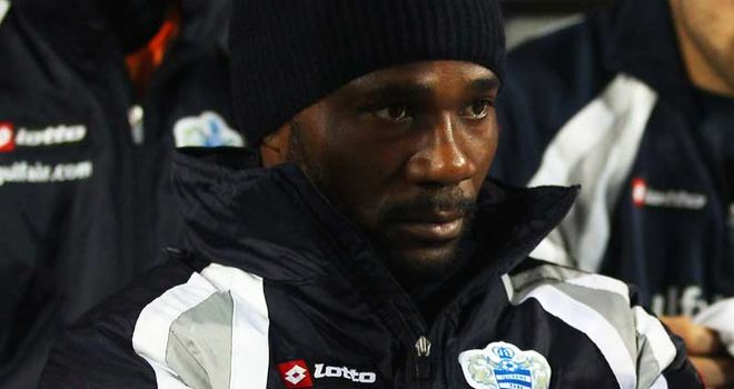 Chimbonda: Has been without a club since the end of the summer