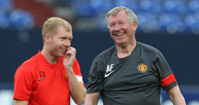 Scholes: Says Ferguson's mind games are a major help during the run-in