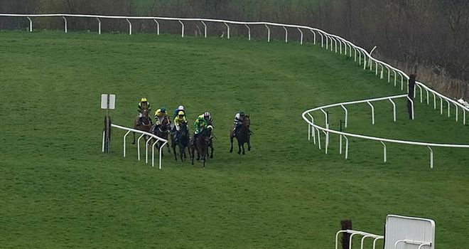 Runners in action at Taunton