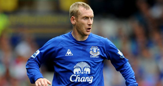 Tony Hibbert: Missed only two Premier League games as Everton forge decent defensive record