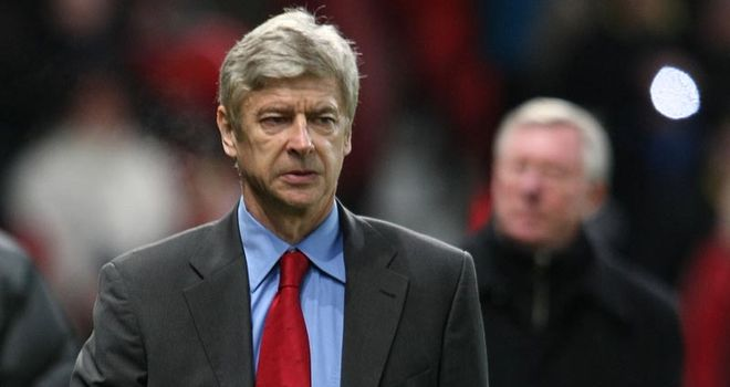 Wenger: can his men bounce back against Man Utd?