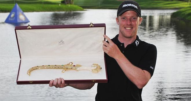 Horsey: held his nerve to triumph at second extra hole