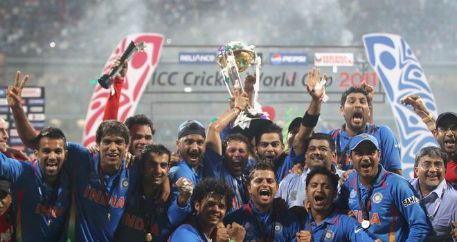 World Cup winners: India celebrate