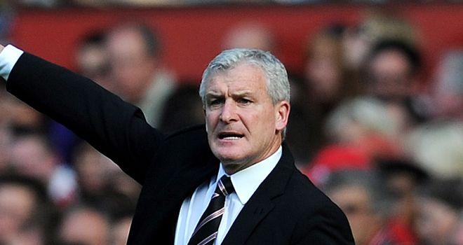 Hughes: Admits he is looking ror new strikers
