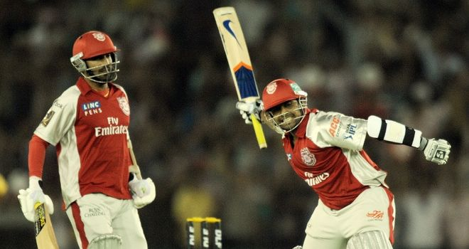 Valthaty: scored first century of this year's IPL