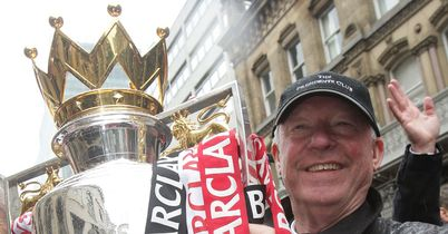 Ferguson: Will get his hands on the Prem trophy again, says Wilkes