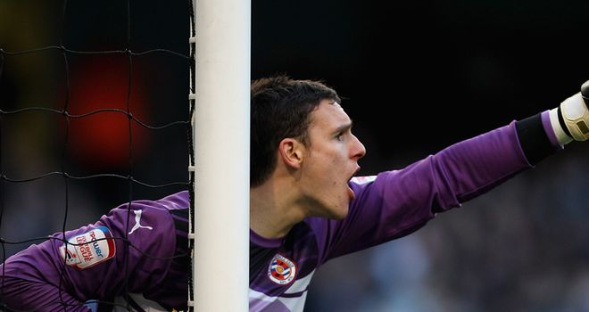 Alex McCarthy: Joining Leeds on a month's loan from Championship rivals Reading