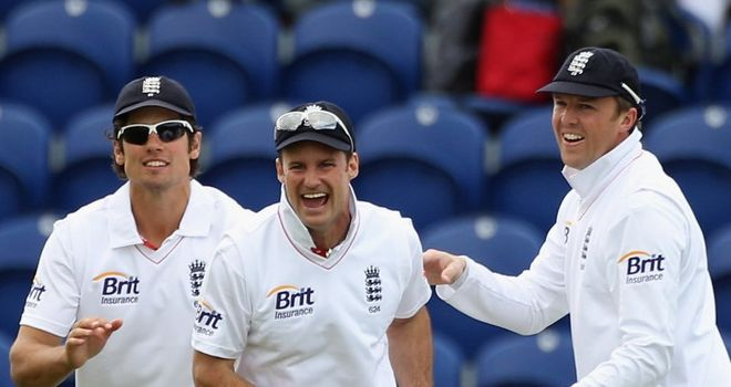 Andrew Strauss: Hailed a ruthless England display on day five in Cardiff