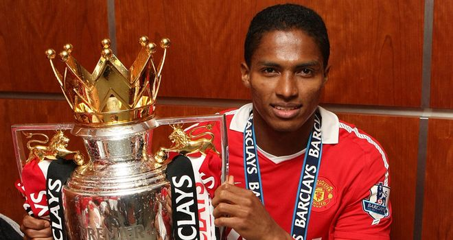 Valencia: United winger has welcomed the arrival of fellow wideman Ashley Young