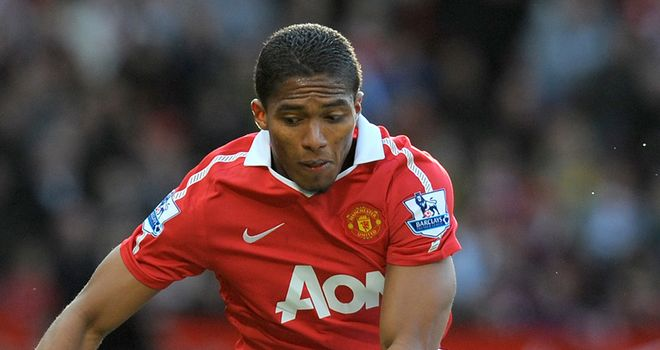 Valencia: Returned to Manchester for treatment on his ankle injury