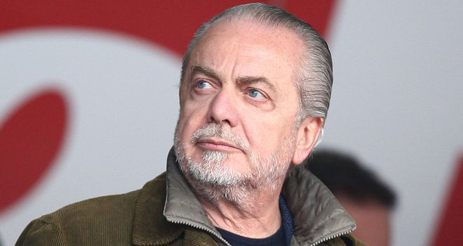 Aurelio De Laurentiis: Looking for an English club