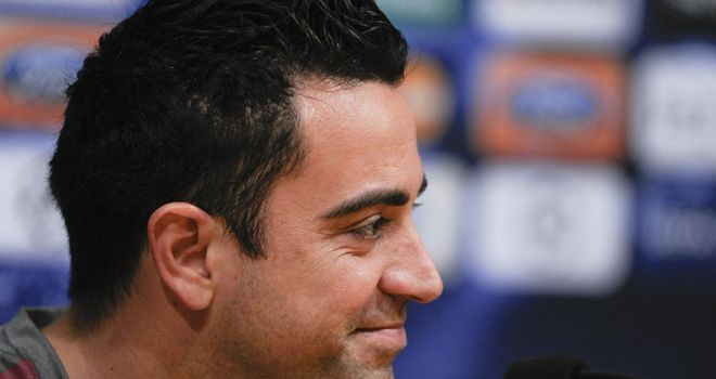 Xavi: Pleased Thiago Alcantara also competing for a midfield spot after new deal