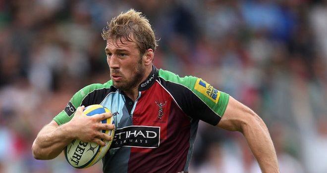 Robshaw: Set his sights on a record third win