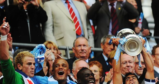 Manchester City begin their defence of the FA Cup against rivals Manchester United