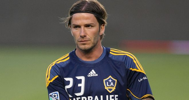 Beckham: The former England captain was linked with a January move to Blackburn