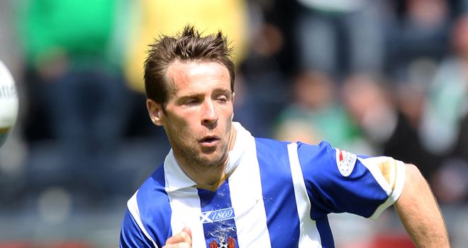 Hay: Staying at Kilmarnock after penning new one-year deal