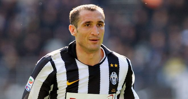 Giorgio Chiellini: The Italy defender has not spoken to Manchester City or Real Madrid