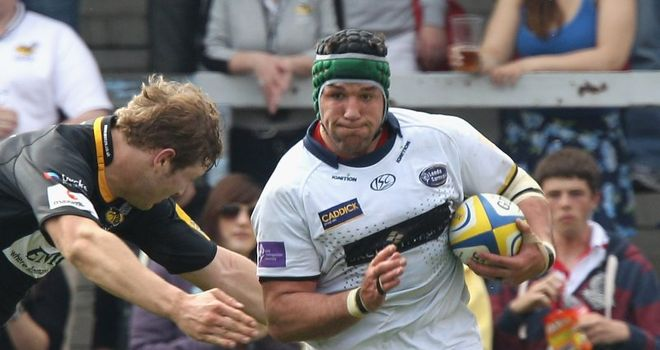 Fourie: At centre of row over approach