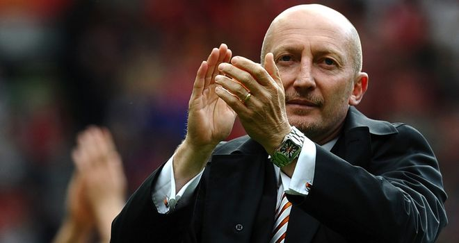 Ian Holloway: Blackpool boss impressed with Fleetwood's leading marksman
