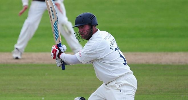 Blackwell: signed new deal to continue his time with Durham