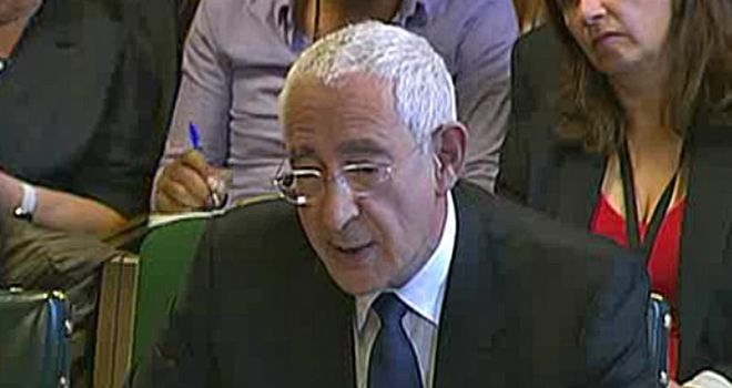 Triesman: Made claims of impropriety against Fifa members