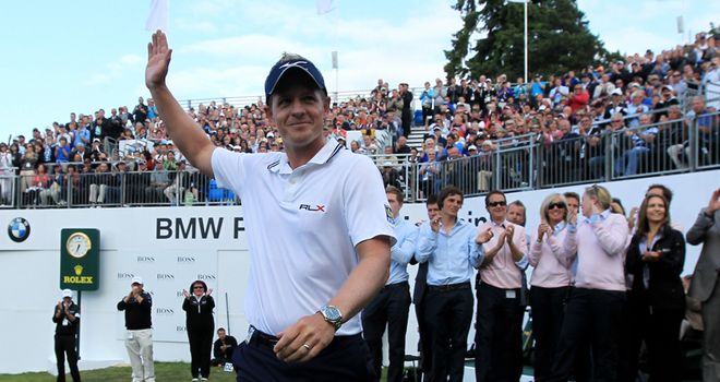 Donald: the new world number one after his Wentworth triumph