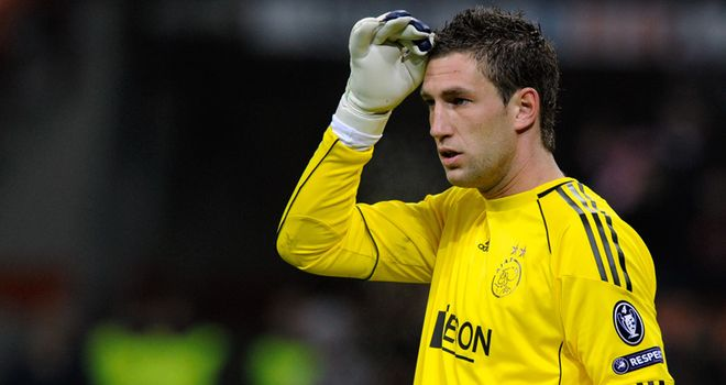 Stekelenburg: Has been linked with a move away from Ajax